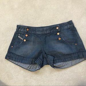 DIESEL Denim Cut-Off Shorts